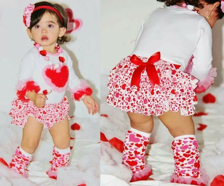 valentine's day girl outfits
