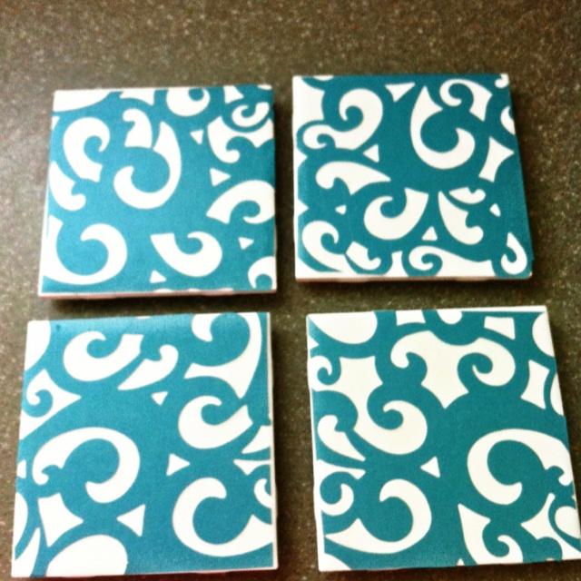 DIY coasters I made last night :)