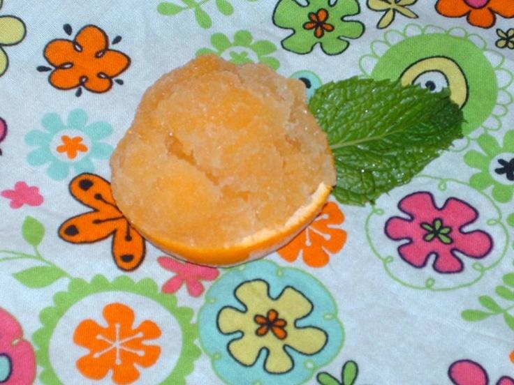 Clementine-Chai Sorbet Recipe | Sorbet Recipes | Pinterest