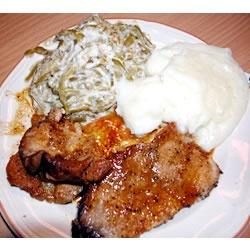 ... Pork Roast http://allrecipes.com/recipe/spicy-honey-mustard-pork-roast