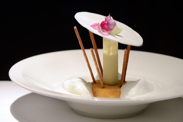 White Chocolate and Chestnut Cream, Buddha's Hand Ice Cream Parfait ...