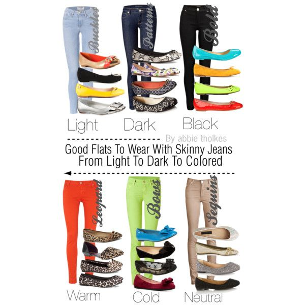 Good flats to wear with skinny jeans
