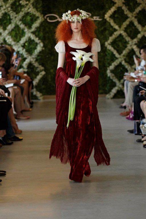 robe de mariee bordeaux  inspirations  Pinterest
