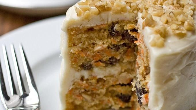Mini Carrot Cake with Maple-Cream Cheese Frosting | Recipe