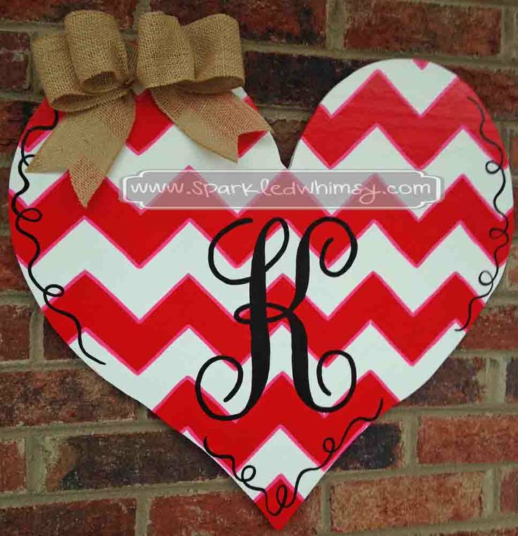 valentine heart wreath ideas