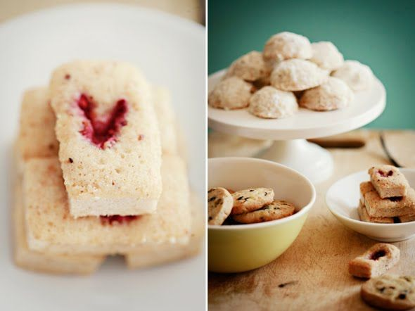 My Sunday Suppers Summer Desserts {Pistachio and Currant Shortbreads ...