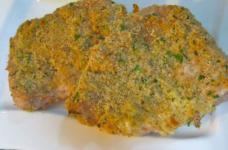 Herbed Veal Chops Recipe — Dishmaps