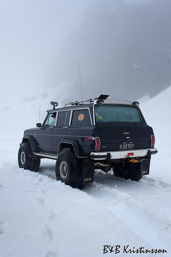 Wagoneer nice snow tires we are on number five best conv
