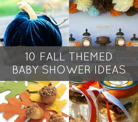 10 fab ideas for a fall themed baby shower disney baby baby shower