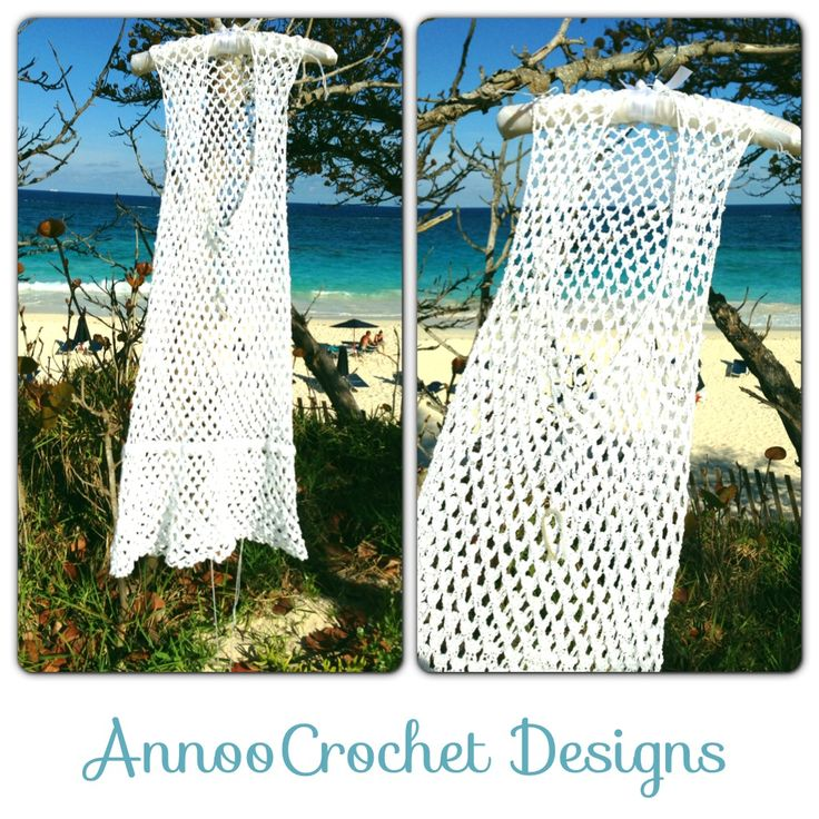 Knit Beach Cover Up Pattern : Crochet Beach Cover up Free Tutorial Crochet Clothing Pinterest
