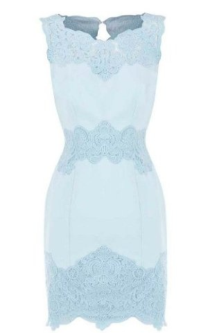 Karen Millen Cotton Lace Panel Dress : Dresses... Saw this in London and fell in love! I want this dress!