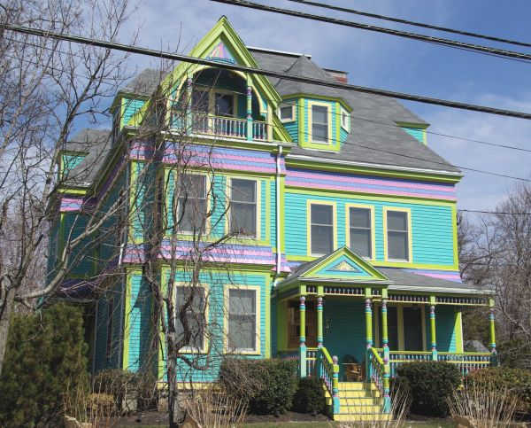 New England Victorian Homes Pinterest