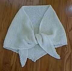 Easy Knit Shawl