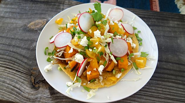 Achiote-Rubbed Butternut Squash Tacos Recipe — Dishmaps