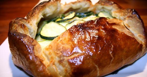 Zucchini and Ricotta Galette | Recipe