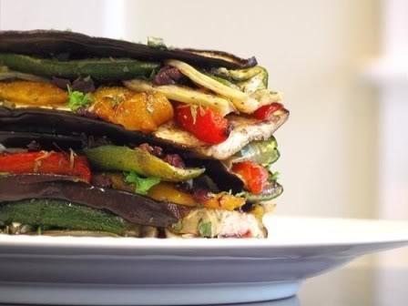 Veggy ratatouille lasagna   recipe_Veggie   Pinterest