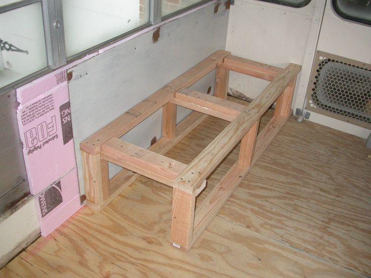 Rear Bench Seat Framing