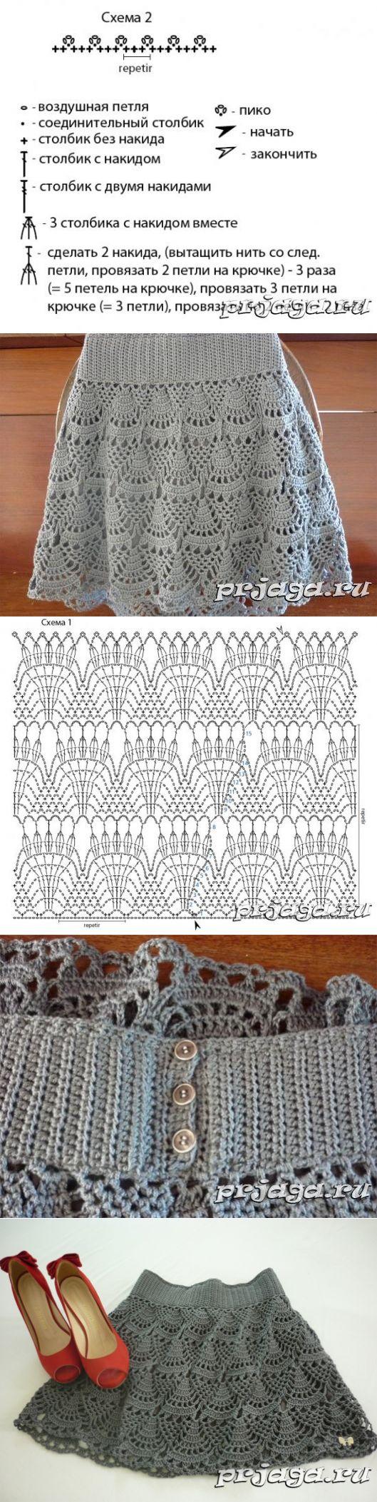 Prjaga ru вязание крючком 40