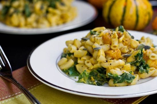 Butternut Squash Mac 'n Cheeze - I like this because it shows step ...