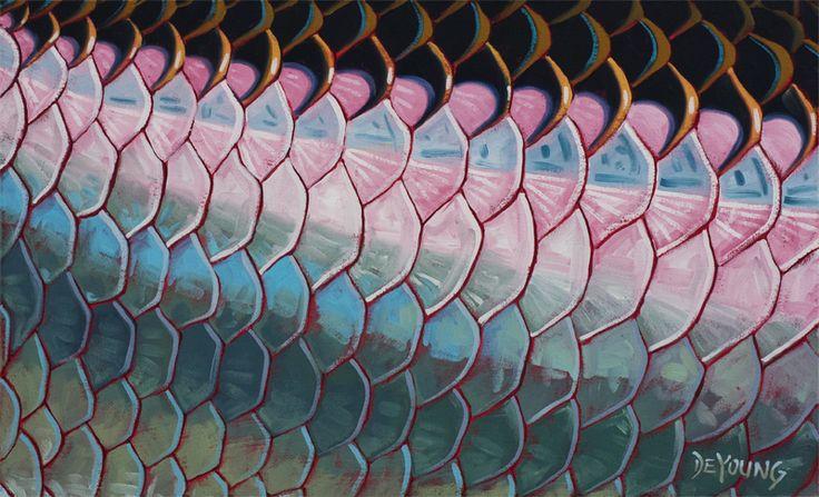 Tarpon scales by derek deyoung deyoung fine art for Best fish scale