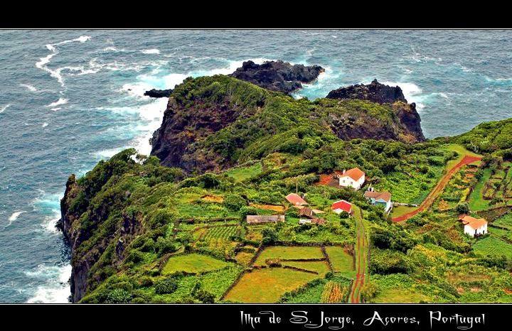Ilha de São Jorge Island Portugal