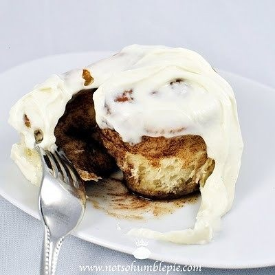 Cinnamon Rolls With Whipped Cream Cheese Frosting