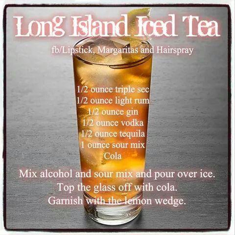 upgraded long island iced tea make a long island iced tea long island ...