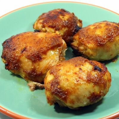 Grilled Pineapple Jerk Chicken Thighs | Favorite Recipes | Pinterest