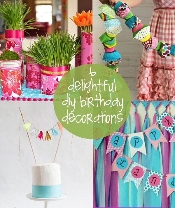 diy decor for a birthday bash party ideas pinterest