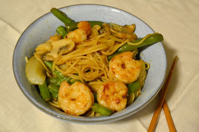Shrimp Sriracha Stir Fry | Yum. | Pinterest