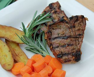Grilled Lamb Chops with Mustard, Rosemary and Garlic~ - great marinade ...