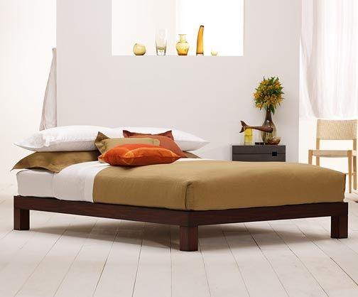Low Modern Platform Bed Home Pinterest
