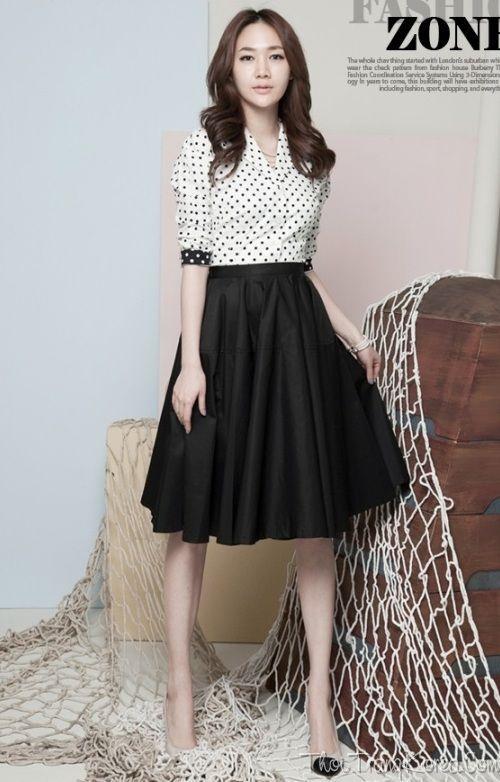 Đầm maxi đen phối chân váy voan hoa trắng đẹp GT215