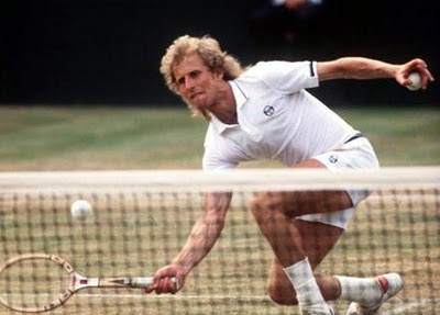 """""""And let that be a lesson to you all. Nobody beats Vitas Gerulaitis 17 times in a row."""" -- post-match conference after beating Jimmy Connors after Connors had beaten him 16 times in a row."""