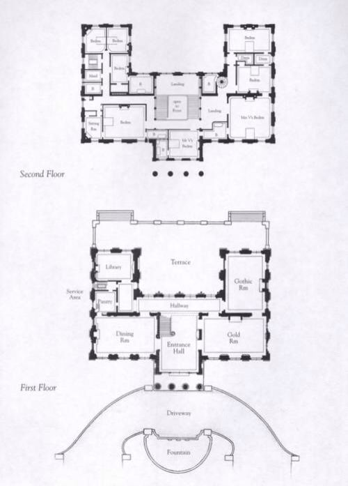 floor plans of marble house newport mansions pinterest