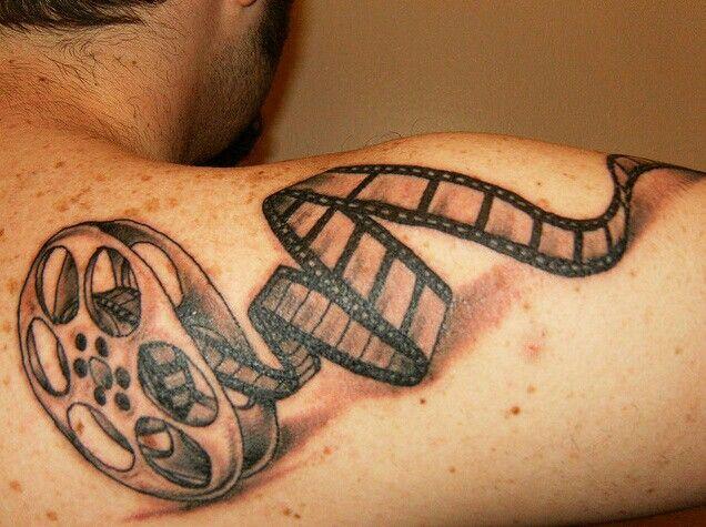 filmtattoo filmstip filmstriptattoo tattoo film tattoos pinterest. Black Bedroom Furniture Sets. Home Design Ideas