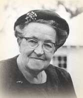 Corrie ten Boom, an extraordinary woman.  She and her sister were imprisoned in a concentration camp for harboring Jewish refugees in the Netherlands during WWII.  Her book The Hiding Place will change your life.