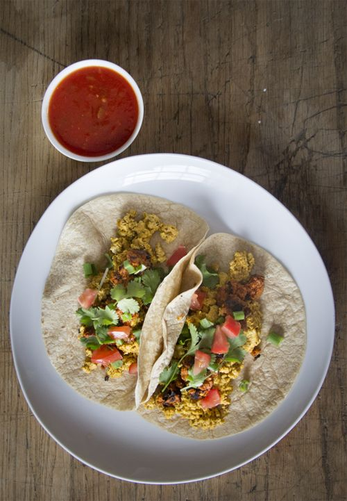 Vegan breakfast burritos | vegan | Pinterest