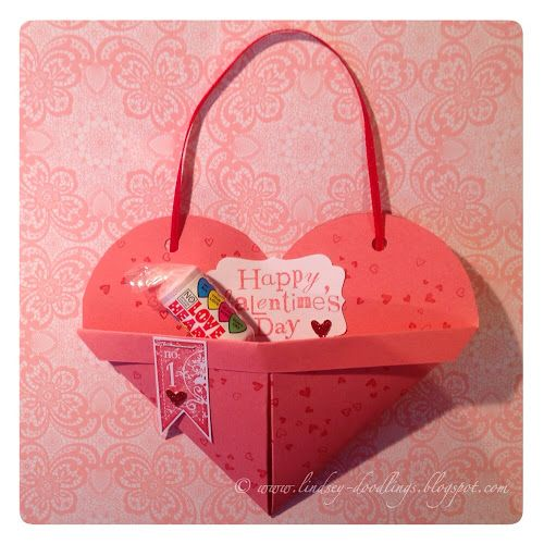 valentine treat box stampin up