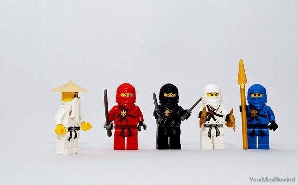 lego ninjago men