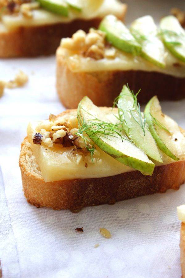 Pear Crostini recommendations