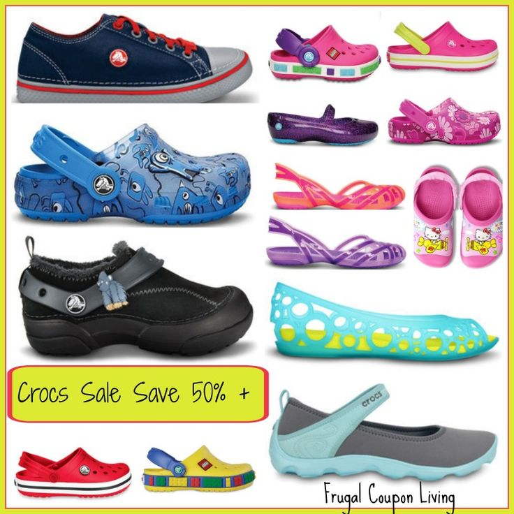Crocs discount coupons