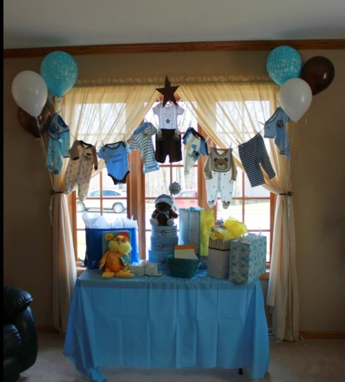 clothes line for baby shower baby shower sports theme pinterest
