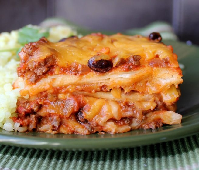 Ground Beef Enchilada Casserole | Main Dishes | Pinterest