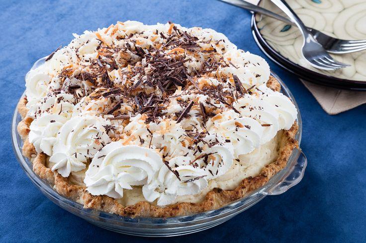 Chocolate Banana Coconut Cream Pie with Macadamia Crust - sounds like ...