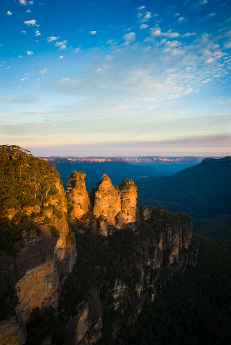 3 sisters at Blue Mountains, Sydney, Australia