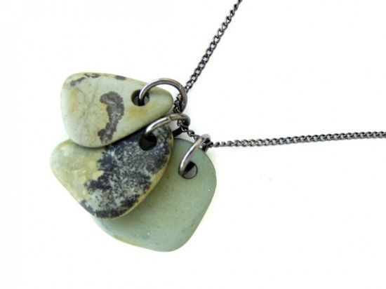 ... : how to drill small beach stones to make natural stone jewelry