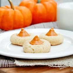 Pumpkin Spice Blossoms | Eat All The Things!!!! | Pinterest