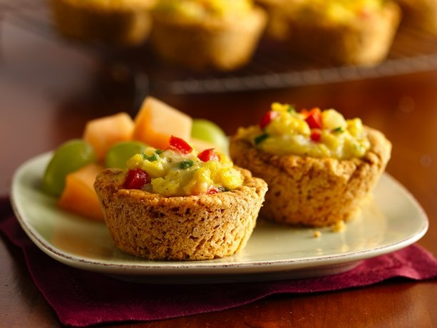 Scrambled Egg Biscuit Cups Recipes — Dishmaps