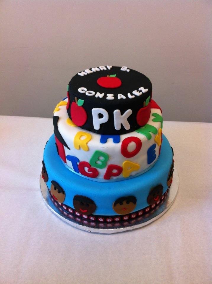 pre k graduation cakes